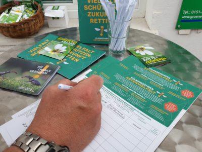 Infostand: Volksbegehren Artenvielfalt.jetzt! @ Am Neuen Markt bei der Weser-Ems Tonne