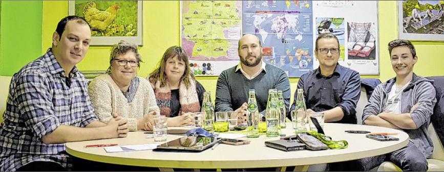 Vorstand Grüne Emden Januar 2020