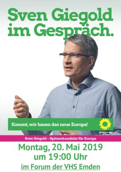Sven Giegold im Gespräch @ VHS-Forum